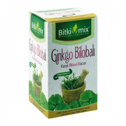 Bitkimix Ginkgo Bilobalı Karışık Bitkisel Macun
