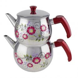 Baron Aile Küre Desenli Çaydanlık
